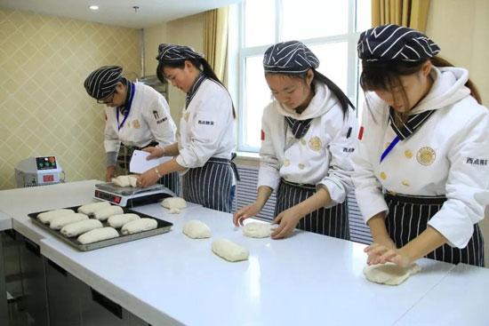 青海新东方烹饪学校-学习烘焙-技术